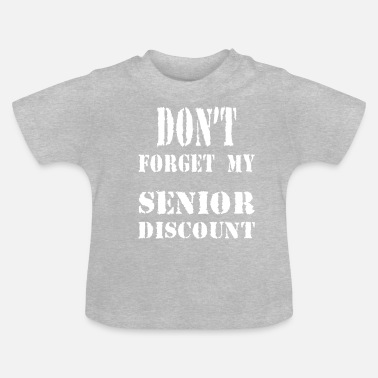 Korting SENIOR KORTING - Baby T-shirt