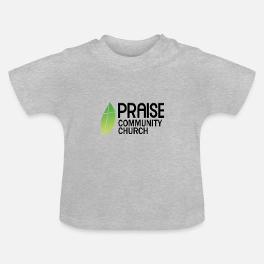 Community praise community church - T-shirt Bébé