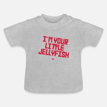 Hip-hop Electro A-217 Little Jellyfish Typo - Baby T-Shirt