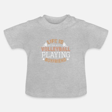 Relationship gift volleyball beach friend - Baby T-Shirt