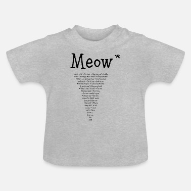 cat&friends - Baby T-Shirt
