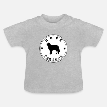Hovified Hovawart dog saying infected dog - Baby T-Shirt