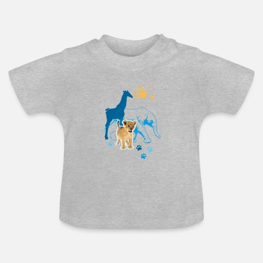 Animal Planet Tiere Kinder T-Shirt - Baby T-Shirt