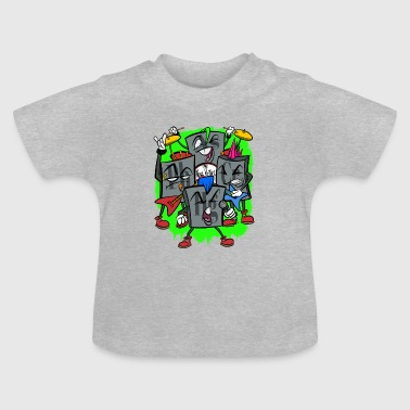 Heavy Heavy Metal - Baby T-shirt
