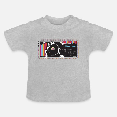 Turntable Turntable Hip Hop - T-shirt baby