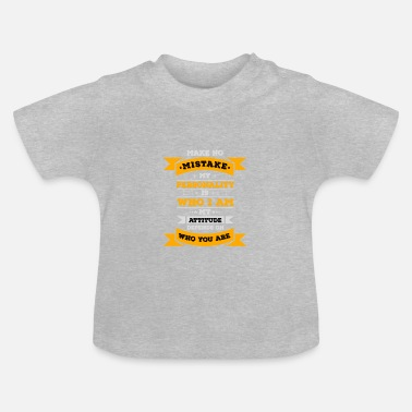 Person Personality - Baby T-Shirt