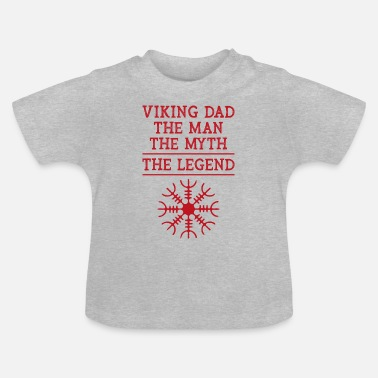 Oslo Viking dad the man the myth the legend Geschenk - Baby T-Shirt