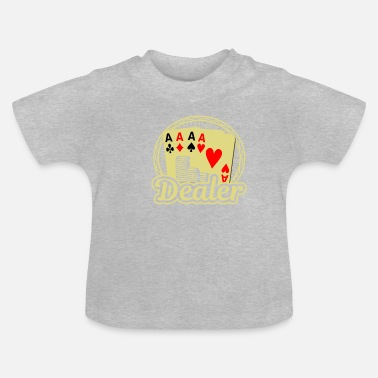 Cards Dealer Card Poker Casino - T-shirt Bébé