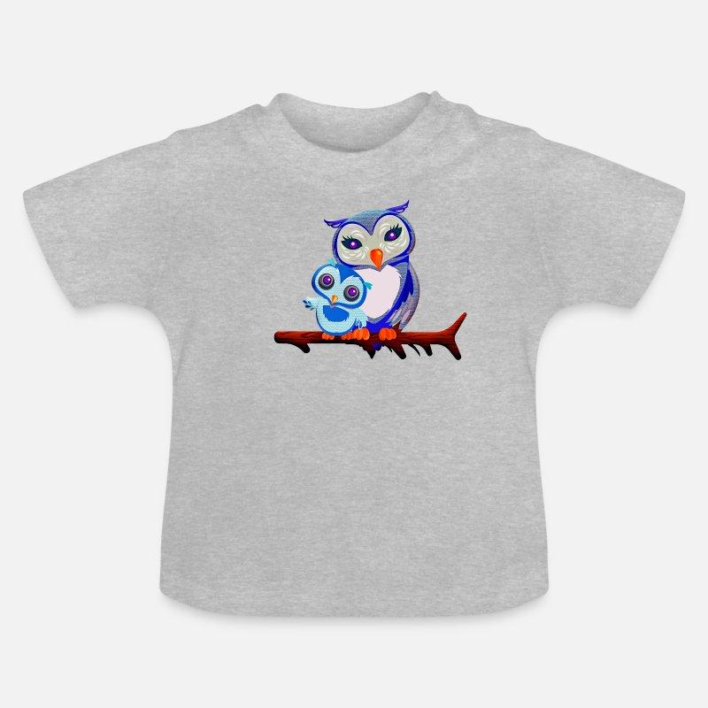 Owls Kawaii Manga Anime Baby T Shirt Spreadshirt