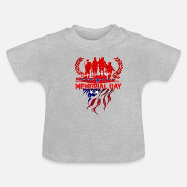 Gedenktag Memorial Day - Gedenktag - Baby T-Shirt