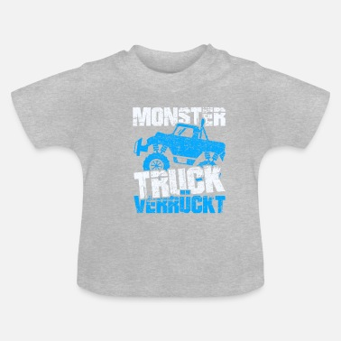 Sirène Monster Truck Crazy - T-shirt Bébé
