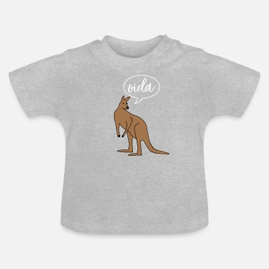 Dialect Oida Austria dialect dialect - Baby T-Shirt
