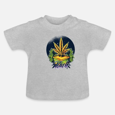 Kush Hemp Kush Design Gift Idea - Baby T-Shirt