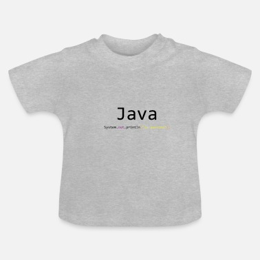 Java Java is awesome - Baby T-Shirt