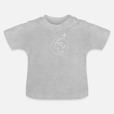 Travel Backpacker TShirt Gift I Earth Journey - Baby T-Shirt