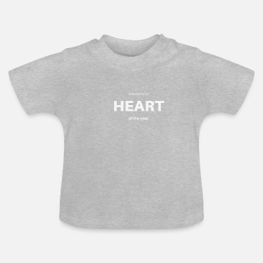 Nominate Nominated as Heart of the year - Baby T-Shirt