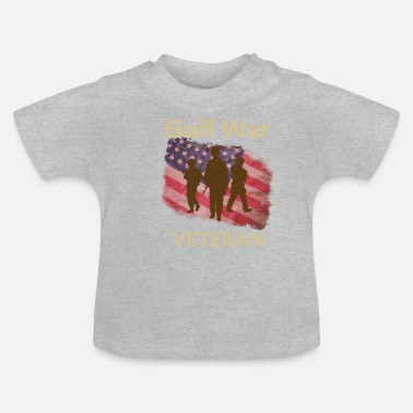 Irak Golfkrigen Veteran Army Navy Marines Airforce Iraq - Baby T-shirt