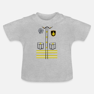Firefighter Costume - Baby-T-shirt