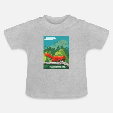 mr squirrel poster - Baby T-Shirt