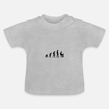 Udviklingslinje Office Evolution - Baby T-shirt