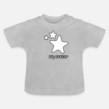Superstar superstar - T-shirt Bébé