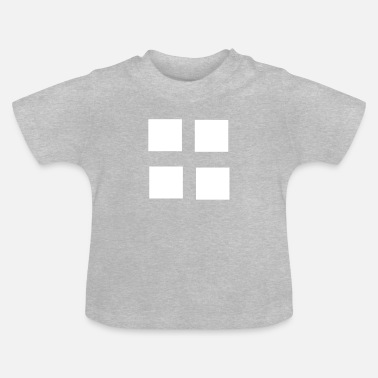 Square Square squares four patterns gift - Baby T-Shirt