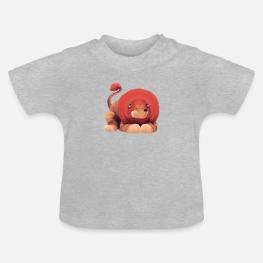 Illustrator Illustration - lion - Baby T-Shirt