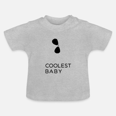 Baby Shower Coolest Baby - father and son Partnerlook Shirts - Baby T-Shirt