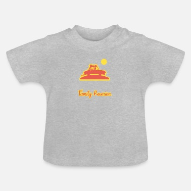 Family Reunion Family Reunion 2019 Insert last name. reunion - Baby T-Shirt