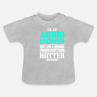 Audio AUDIO ENGINEER - Baby T-Shirt