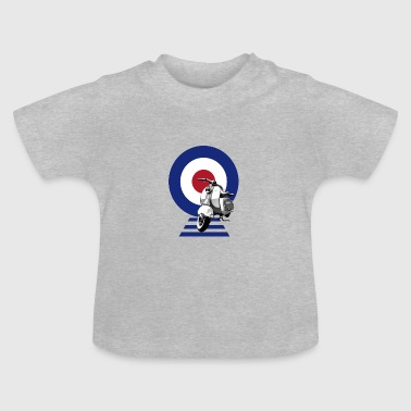 Scooter Mod Target Scooter - Baby T-Shirt