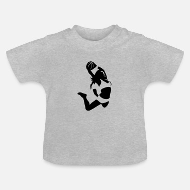 Basketball basketball girl - Baby T-Shirt