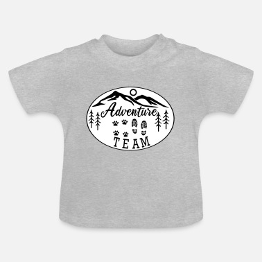 Hovawart Adventure Team dog saying dog lovers - Baby T-Shirt