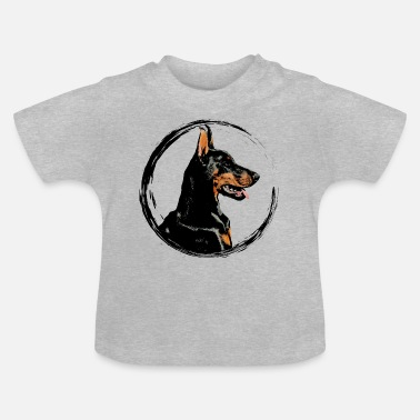 Doberman Pinscher Doberman pinscher dog - Baby T-Shirt