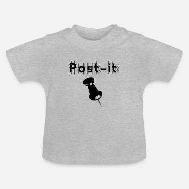 Post Post het - Baby T-shirt