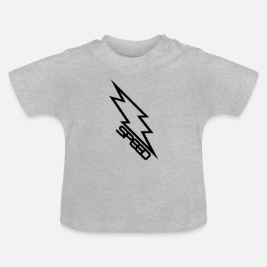 Clipart Blixt Clipart Speed - T-shirt baby