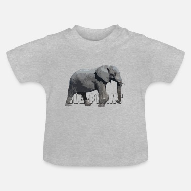 Elephant lover related products - Baby T-Shirt