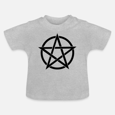 Wicca pentagram Wicca - T-shirt baby