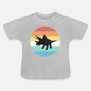 Reptil dinosaurien - Baby-T-shirt