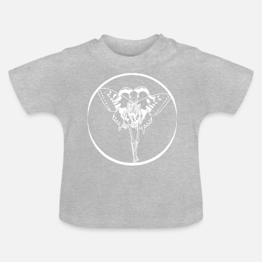 Butterfly skeleton white - Baby T-Shirt