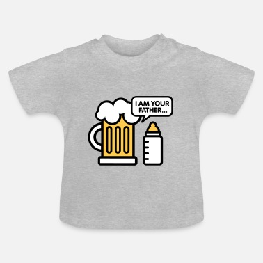 Bier I am your father - Baby T-shirt