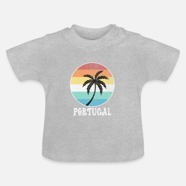 Palmbomen Portugal - Baby T-shirt