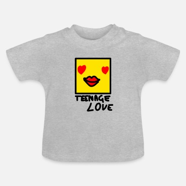Teenager Self Picture Girl: Teenage Love - T-shirt Bébé