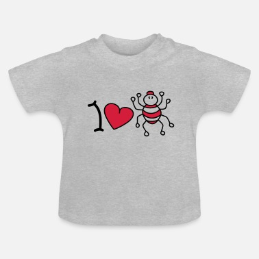 Insectarium I love spiders - Baby T-Shirt