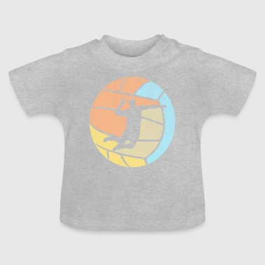 Volleybal Volleybal Vintage - Baby T-shirt