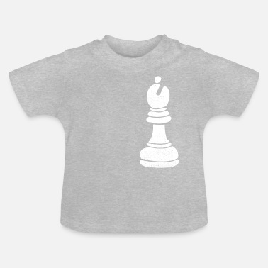 Biskop Biskop Chess Piece Gift - Baby-T-shirt