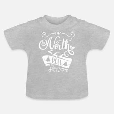 North Yorkshire North Pole white - Baby T-Shirt