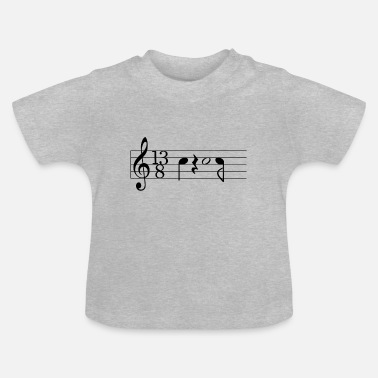 Prog Rock Prog black - Baby T-Shirt