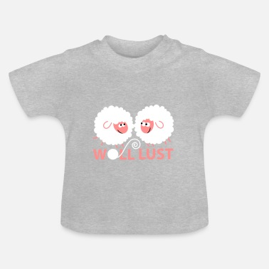 Wolle Woll Lust - Baby T-Shirt