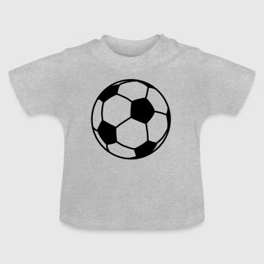 Boll football / ball 1c - T-shirt Bébé